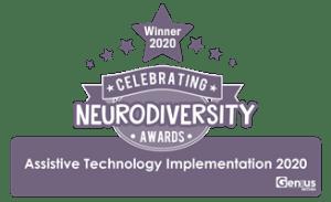 Neurodiversity Awards 2020