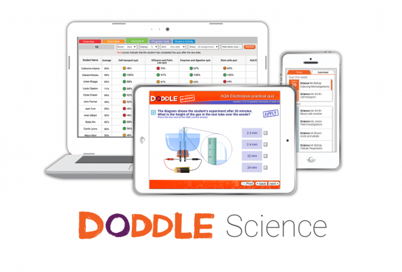 Doddle Science works on all devices