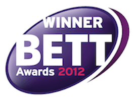 j2e BETT-AWARD 2012 Winner