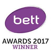j2e BETT Award Winner 2017