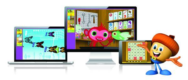 Mathseeds screens