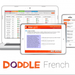 Doddle French teaching and homework platform: accessible on all devices
