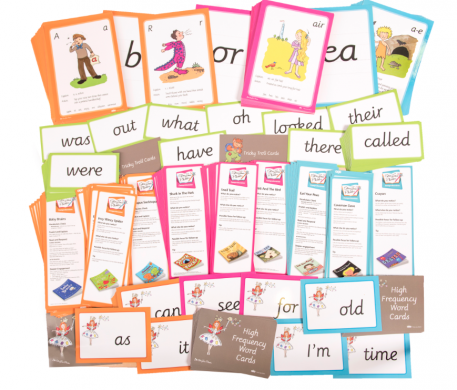 Cards Included within StoryTime Phonics