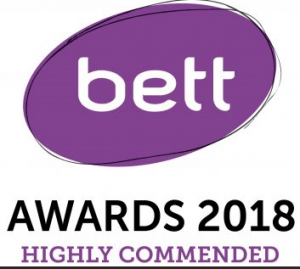Highly commended BETT 2018 Nominated