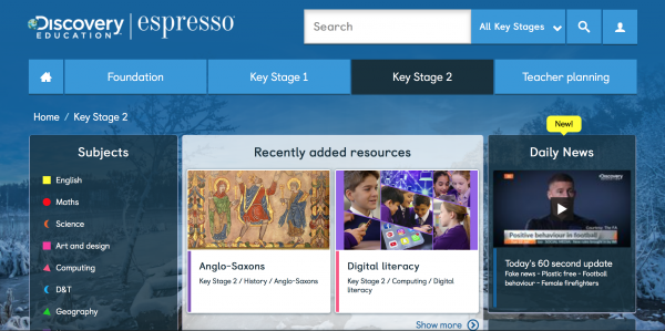 Key Stage 2 Home Page