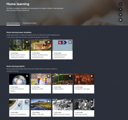 Espresso Home Learning resources