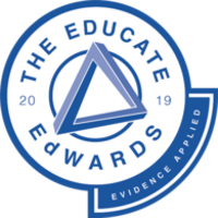 Educate Evidence Applied Edward award 2019 badge