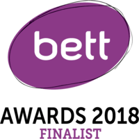 BETT awards 2018 finalist badge