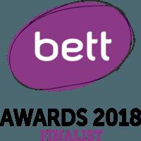 BETT awards 2018 finalist badge