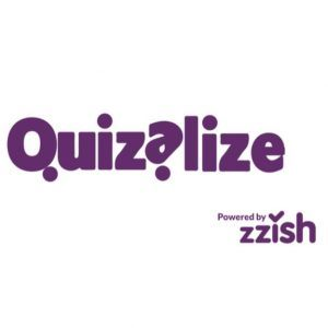 Quizalize Powered by Zzish Logo