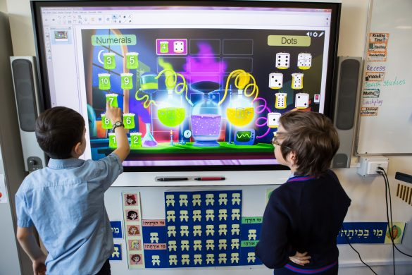 SMART Learning Suite in the classroom