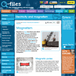 Magnetism page from Q-files
