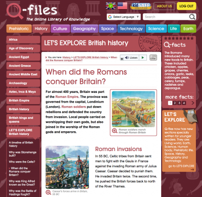 Let's Explore Romans page from Q-files