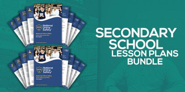 Secondary Lesson Plan Bundle screenshot