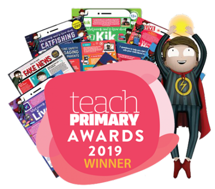 Teach Primary Awards logo