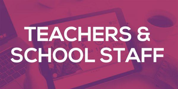 Teachers and schools screenshot