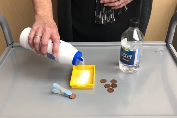 Cleaning Pennies - What's in my tray?