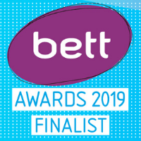 BETT finalist 2019 badge