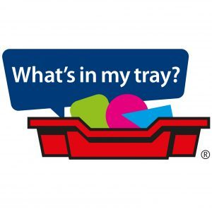 What's in my tray? Logo