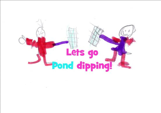 Let's go pond dipping