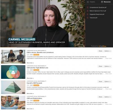 Example Video Content: CSR