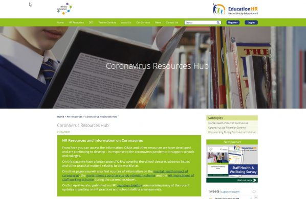 The HR Coronavirus Resource Hub