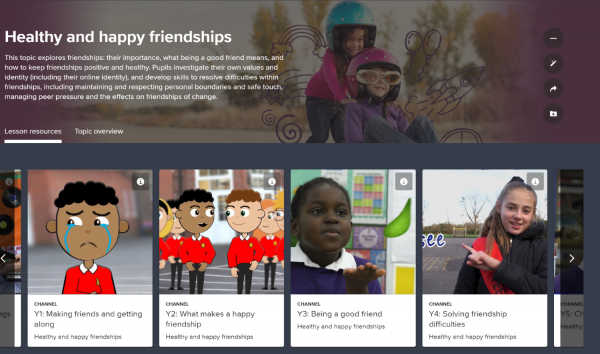 Lesson Topic: Healthy, Happy Friendships