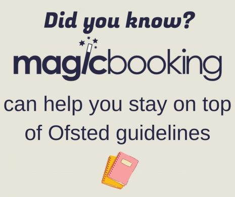 can help you stay on top of Ofsted guidelines
