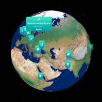 Lyfta student app globe
