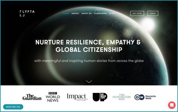 Lyfta website image