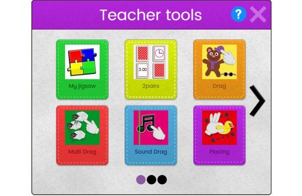 Mini Mash teacher tools